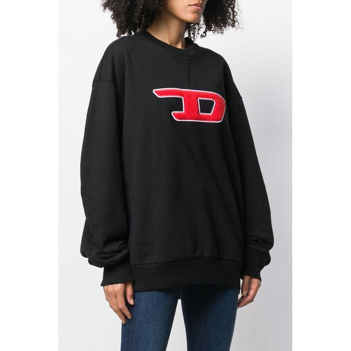 Diesel Women's Sweatshirt Black 298734 - black S