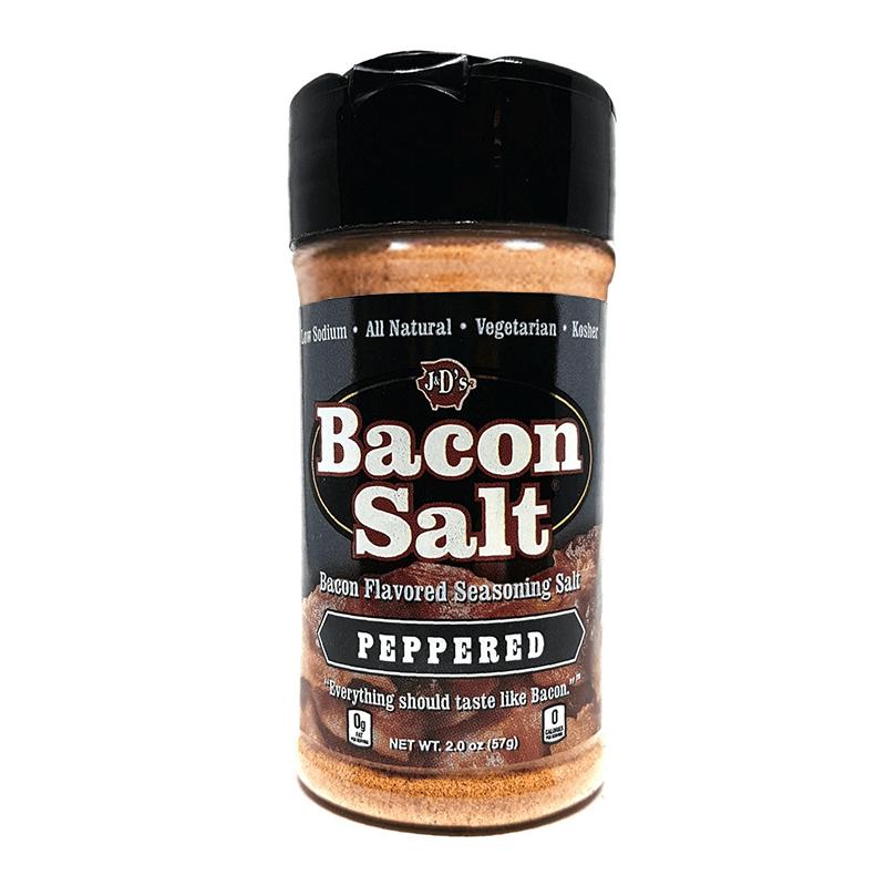 J&Ds Peppered Bacon Salt 57g