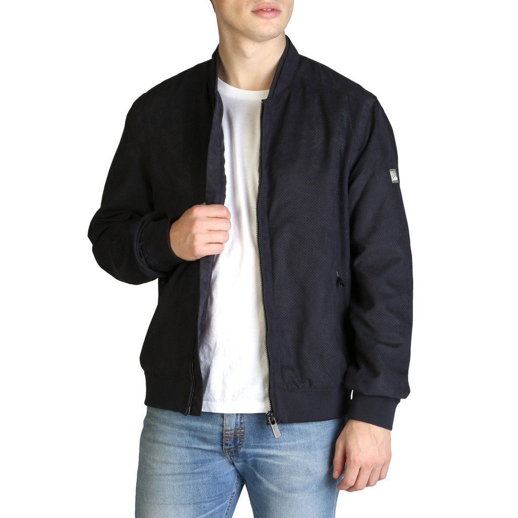 Yes Zee Men's Jacket Blue J518_QC00 - blue S