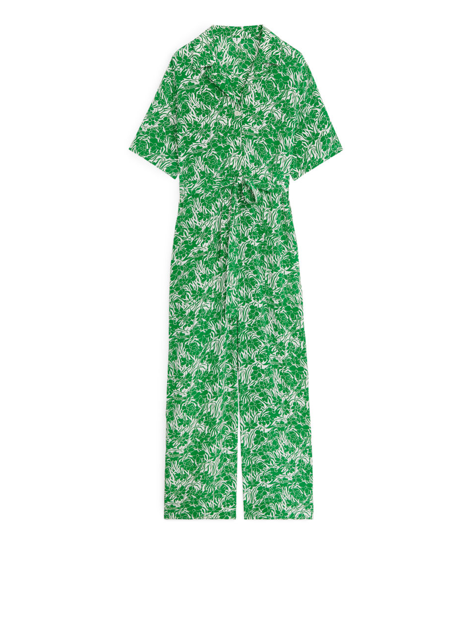 Floral Jumpsuit - Green