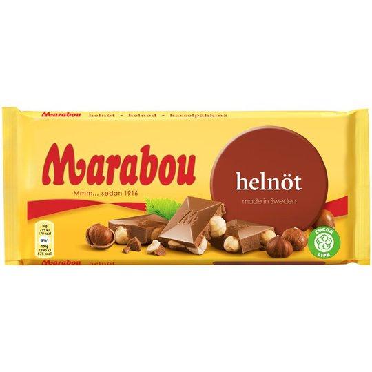 Marabou Chokladkaka Helnöt - 25% rabatt