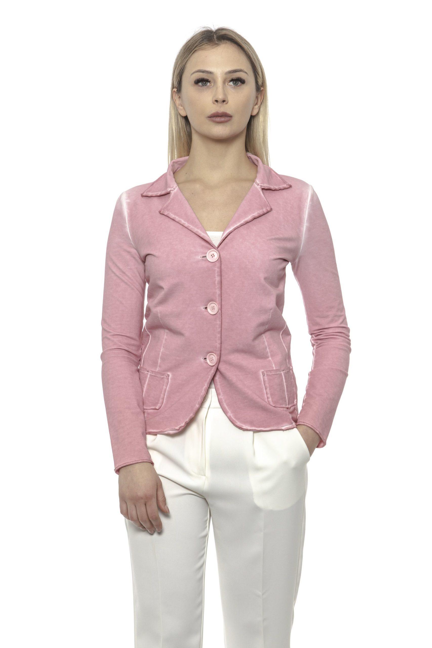 Alpha Studio Women's Rosaantico Blazer Pink AL1374693 - IT40 | XS
