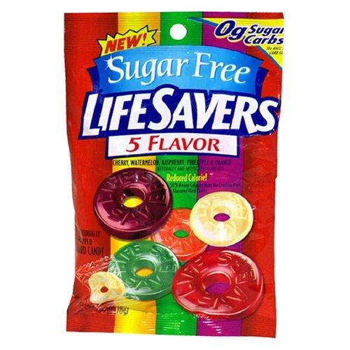 Lifesavers 5 Flavor Bag Sugar Free 78g