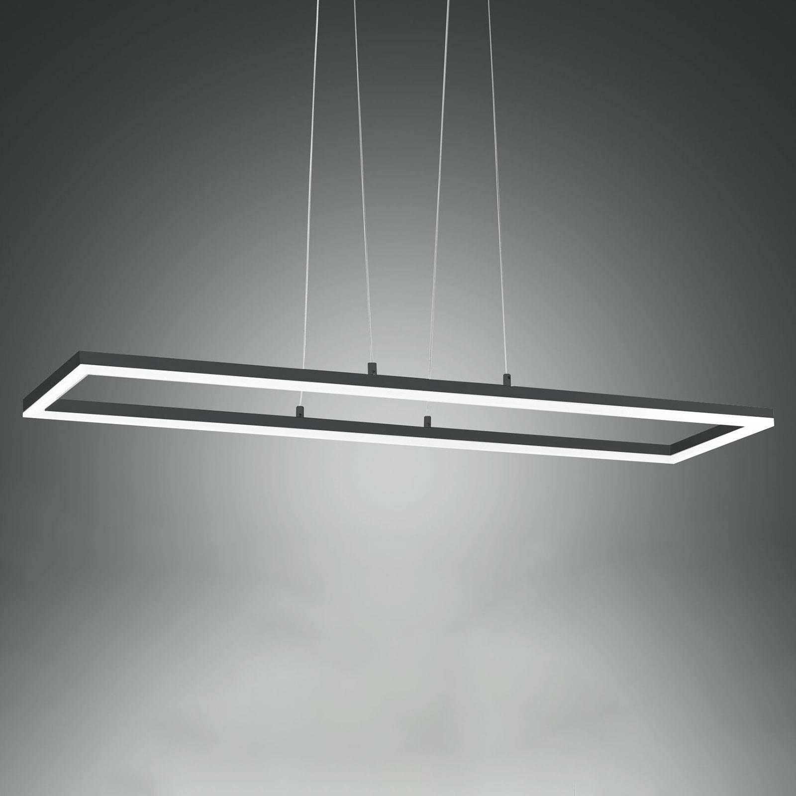 LED-riippuvalaisin Bard, 92x32 cm, antrasiitti