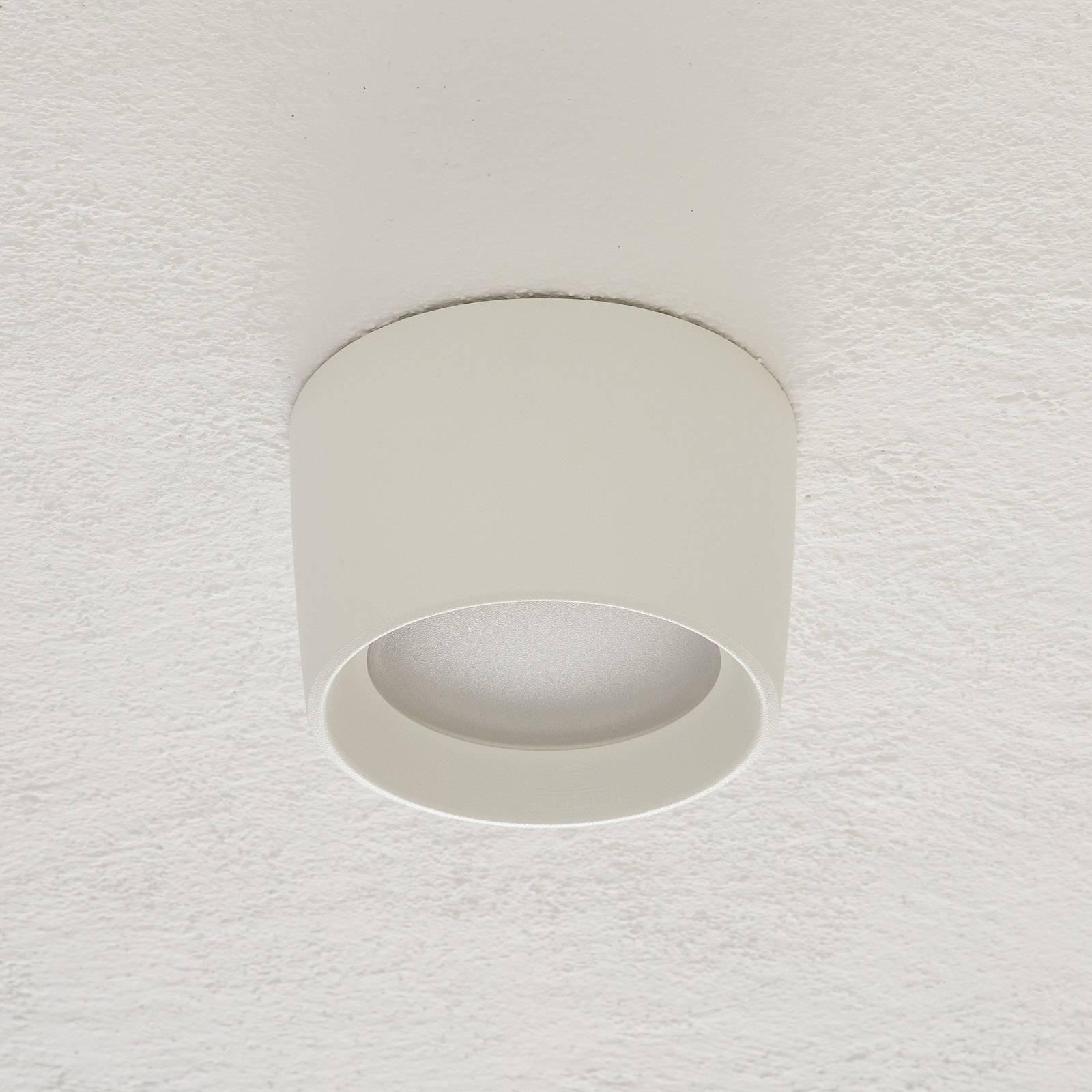 Livia-alasvalo Ø 16 cm CCT valkoinen/frosted