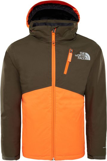 The North Face Snowquest Insulated Skijakke Barn, New Taupe Green XS