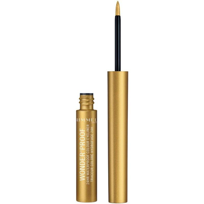Silmänrajauskynä Shiny Gold - 50% alennus