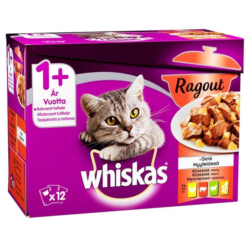 Kissanruoka Lihalajitelma Hyytelössä 12kpl - 24% alennus