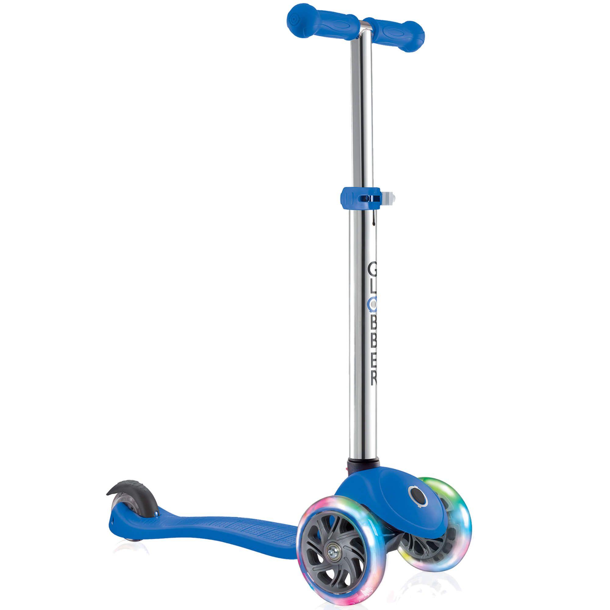GLOBBER - Scooter - PRIMO LIGHTS V2 - Blue