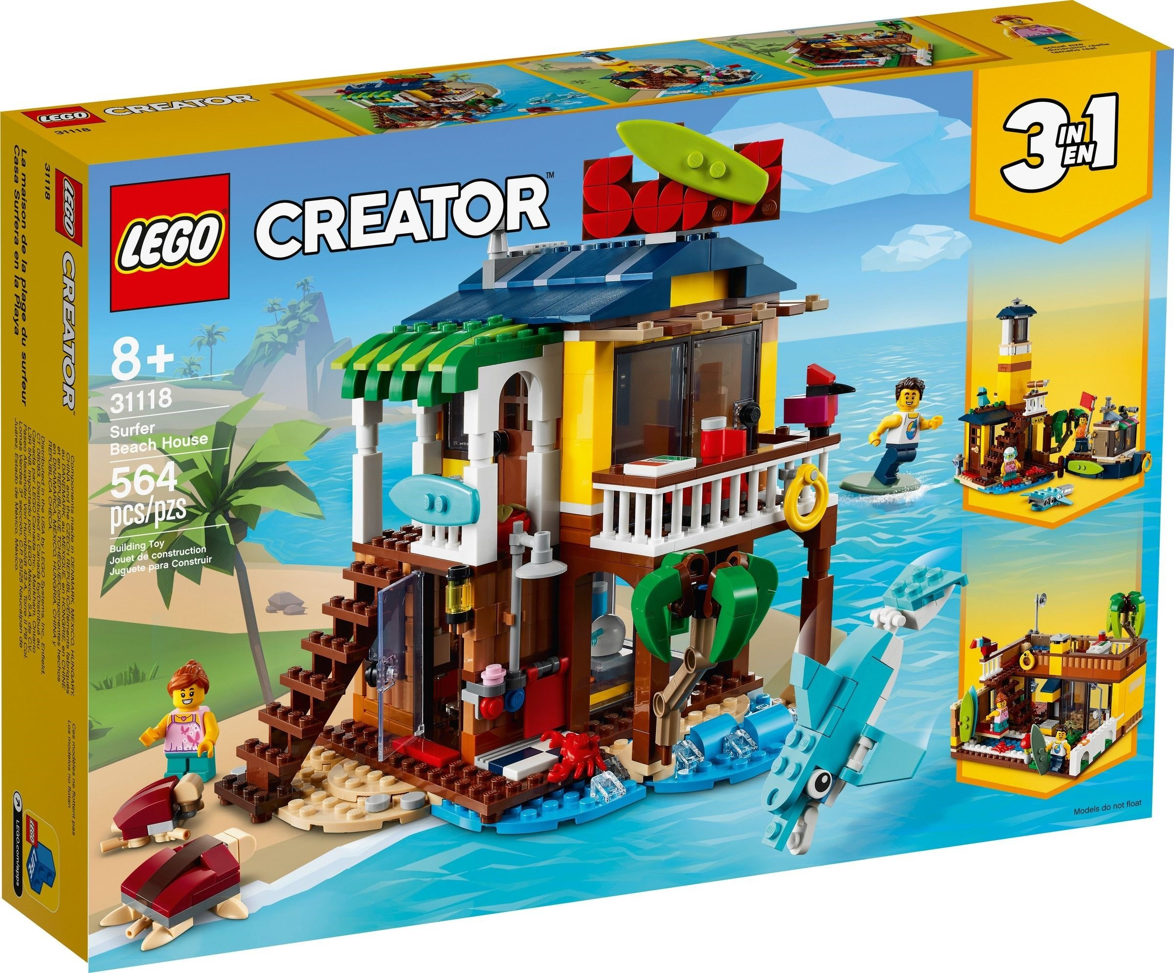 LEGO Creator - Surfer Beach House (31118)