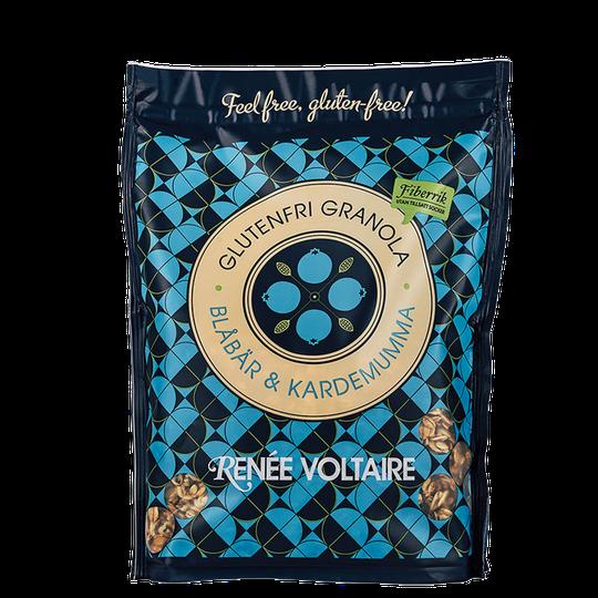Glutenfri Granola Blåbär & Kardemumma, 375 g