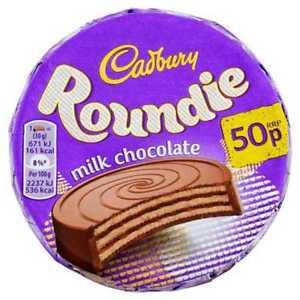 Cadbury Roundie Milk Chocolate Biscuit 30g