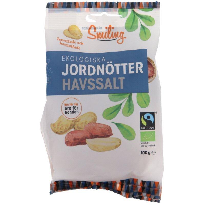 Eko Jordnötter Sea Salt - 25% rabatt