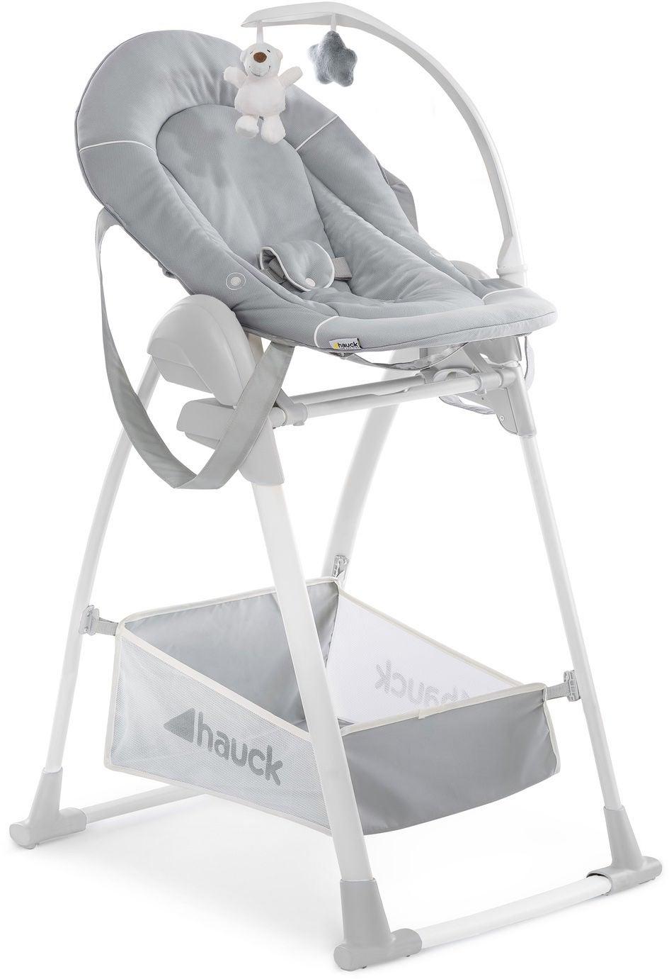 Hauck Sit N Relax 3-i-1 Matstol, Grey