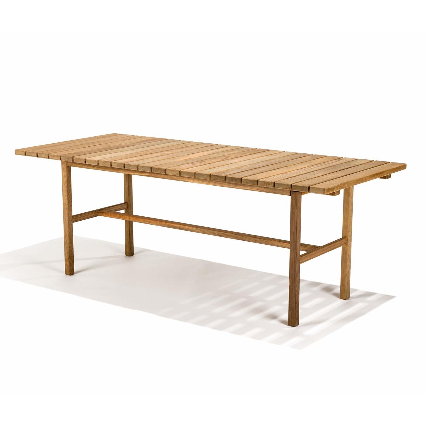 Djurö matbord teak 200 cm, Skargaarden