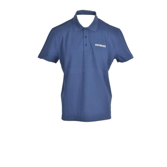 Bikkembergs Men's Polo Blue 322450 - blue S