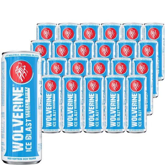 Wolverine Energy Drink Ice Blast 24-pack - 41% rabatt