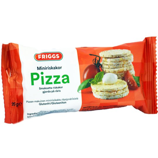 Miniriskakor Pizza 25g - 49% rabatt
