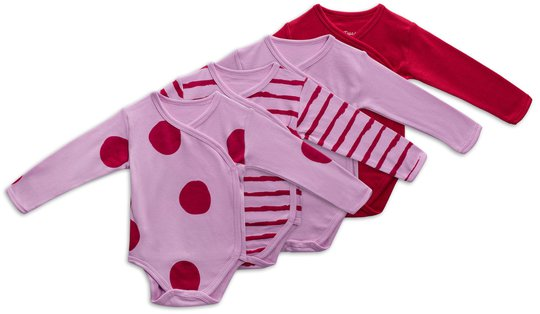 Tiny Treasure Alexie Body 4-Pack, Pink Lavender 56