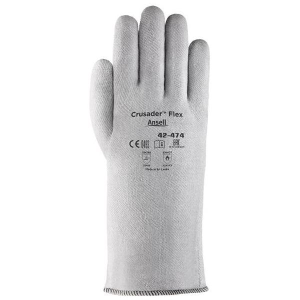 Ansell Crusader Flex 42-474 Varmevernehanske Syntetisk, Str. 10