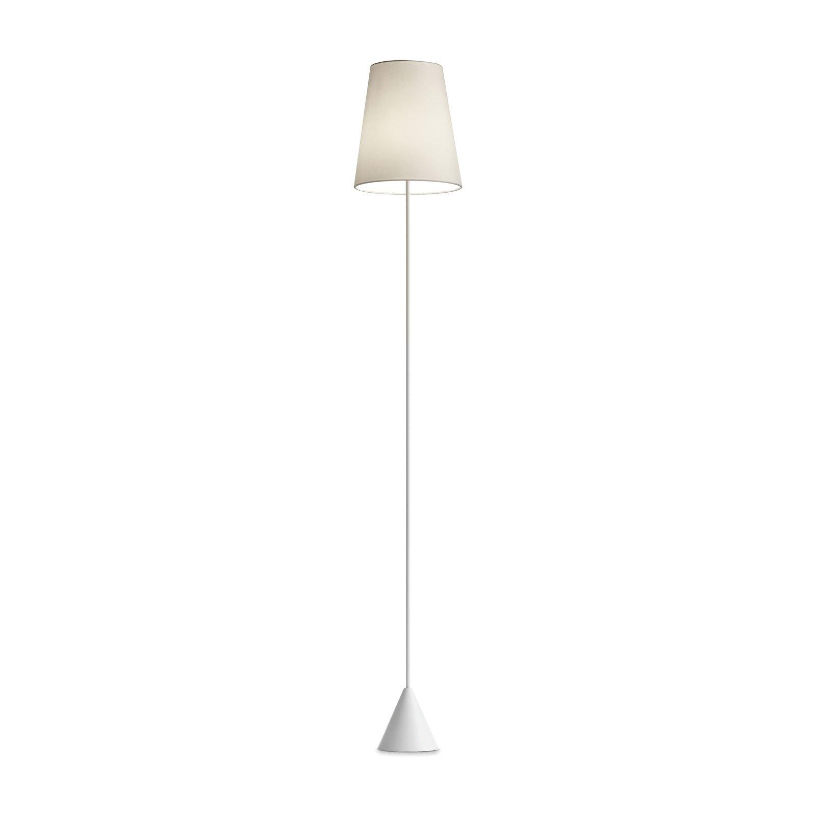 Modo Luce Lucilla gulvlampe Ø 24 cm hvit/elfenben