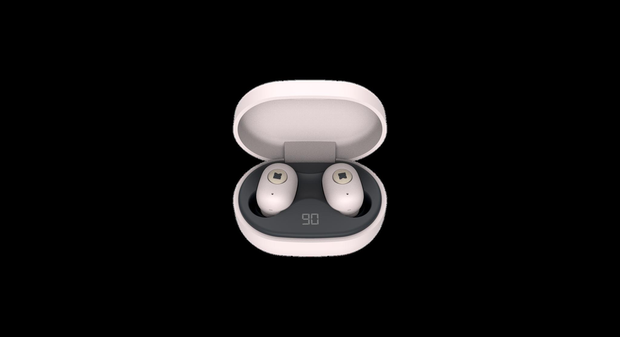 KreaFunk - aBEAN In-Ear Bluetooth Headphones - Dusty Pink (KFLP03)