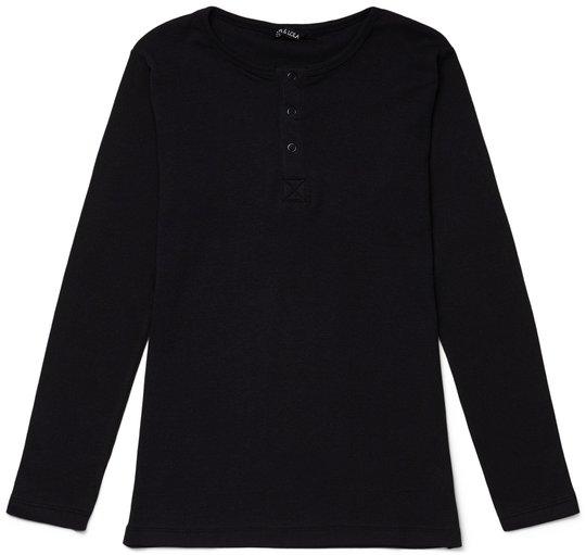 Luca & Lola Jacopo Langermet T-Shirt, Black 134-140