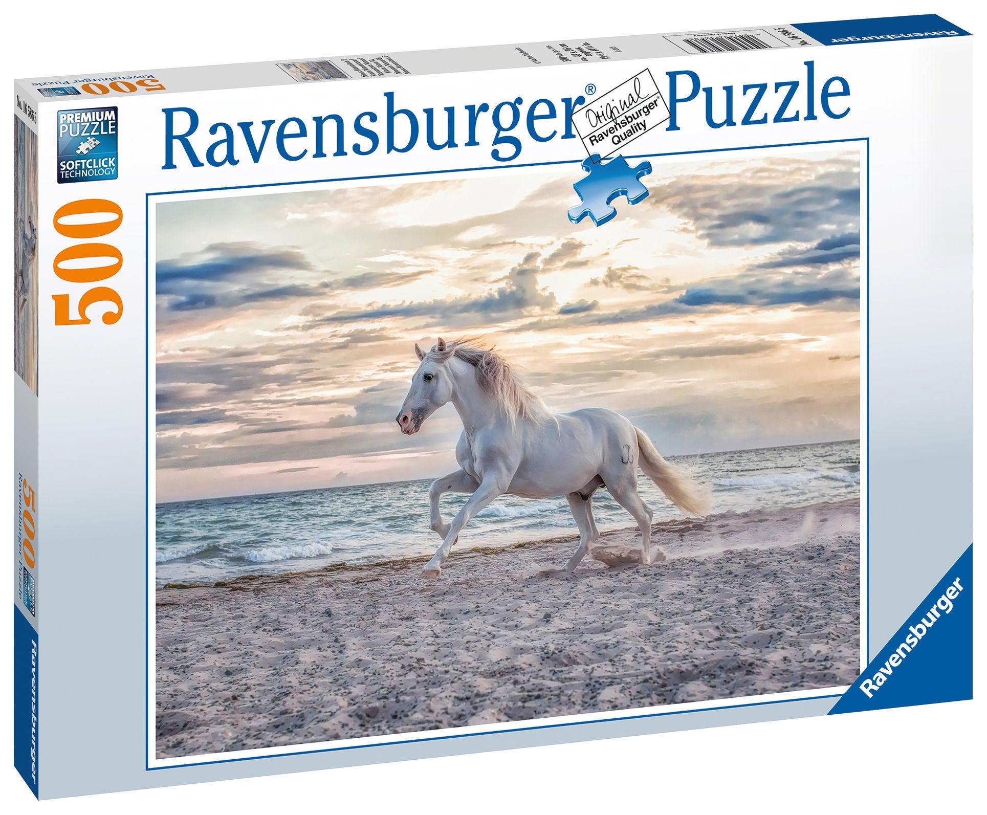 Ravensburger Pussel Kvällsgalopp 500 Bitar