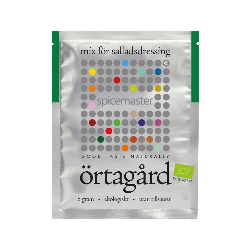 "Eko Salladsdressingmix ""Örtagård"" 8g - 23% rabatt"
