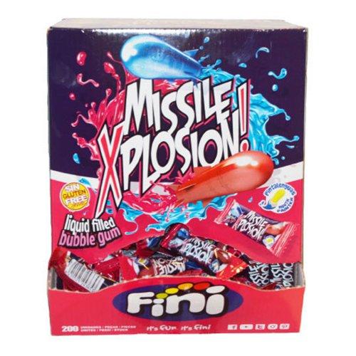 Tuggummi Missil Explosion Storpack - 200-pack (hel kartong)