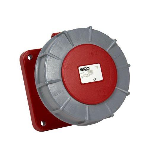 Garo UIV 3125-6 S Paneelin ulostulo IP67, 4-napainen, 125A Punainen, 6 h