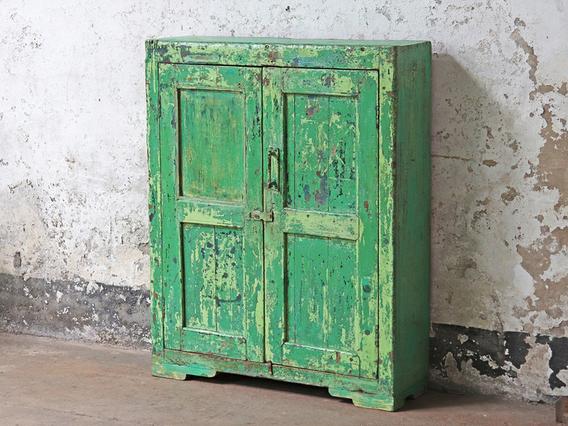 Old Green Cupboard Green