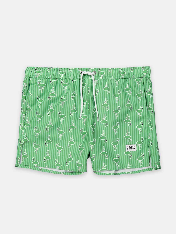 Frank Dandy Flamingo Swim Shorts