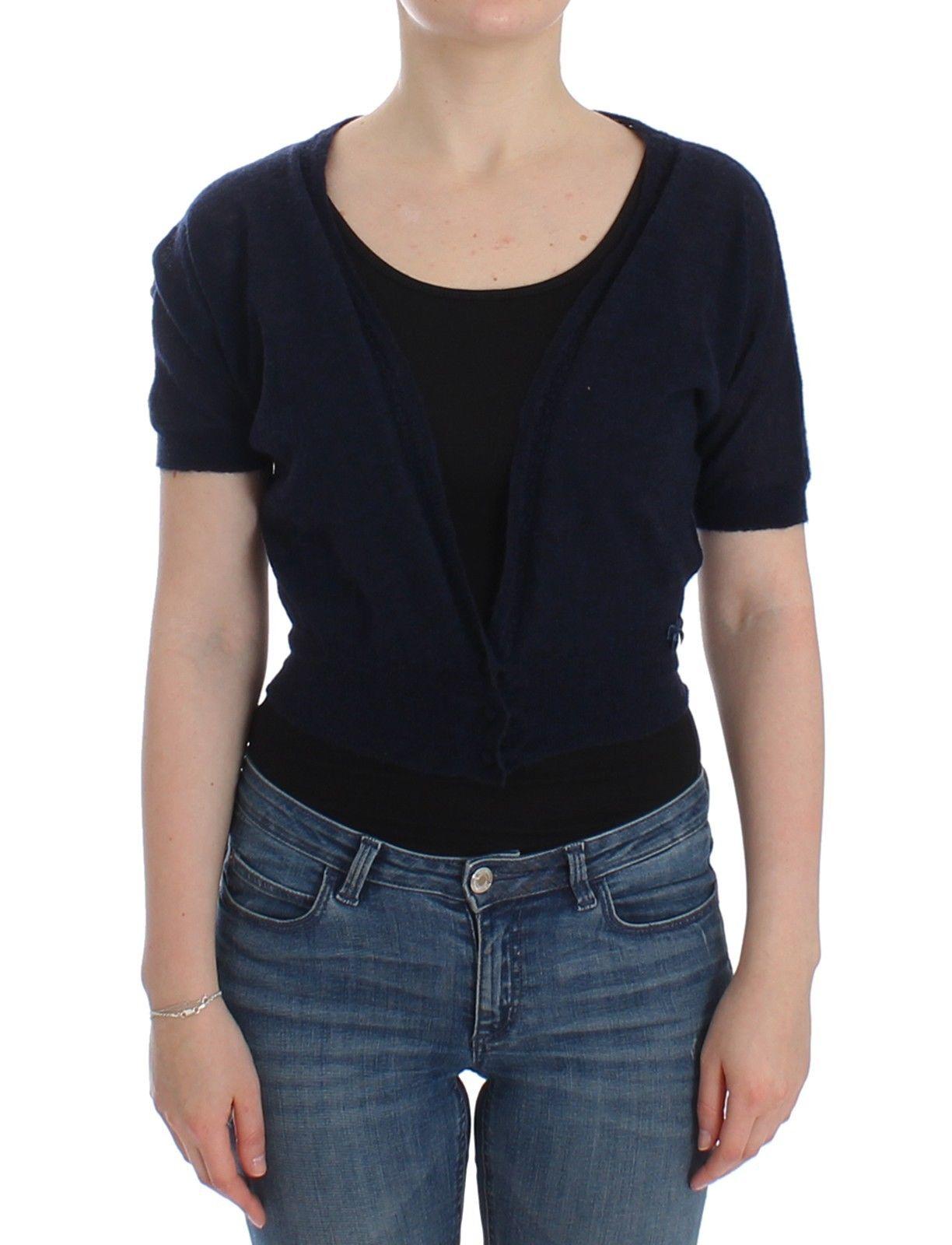 Ermanno Scervino Women's Sweater Blue SIG12568 - IT46 | L