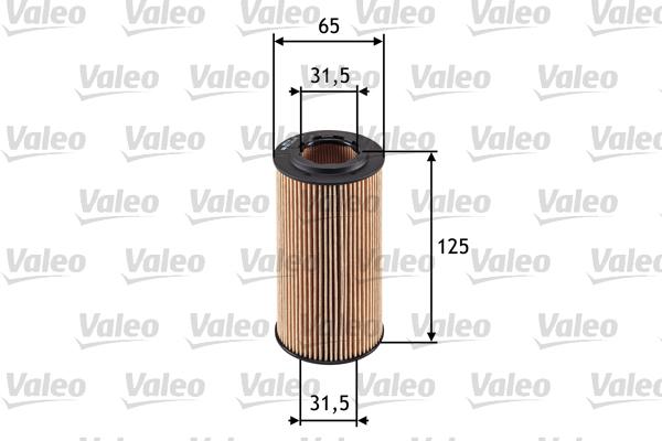 Öljynsuodatin VALEO 586552