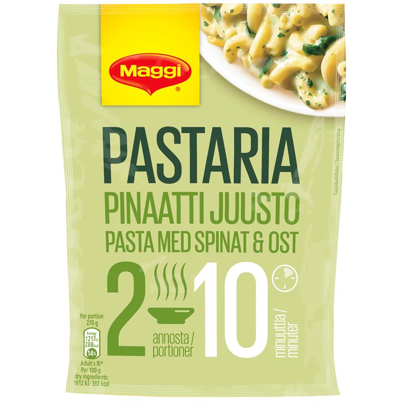 """Pastaria """"Pinaatti-Juusto"""" 151g - 36% alennus"""