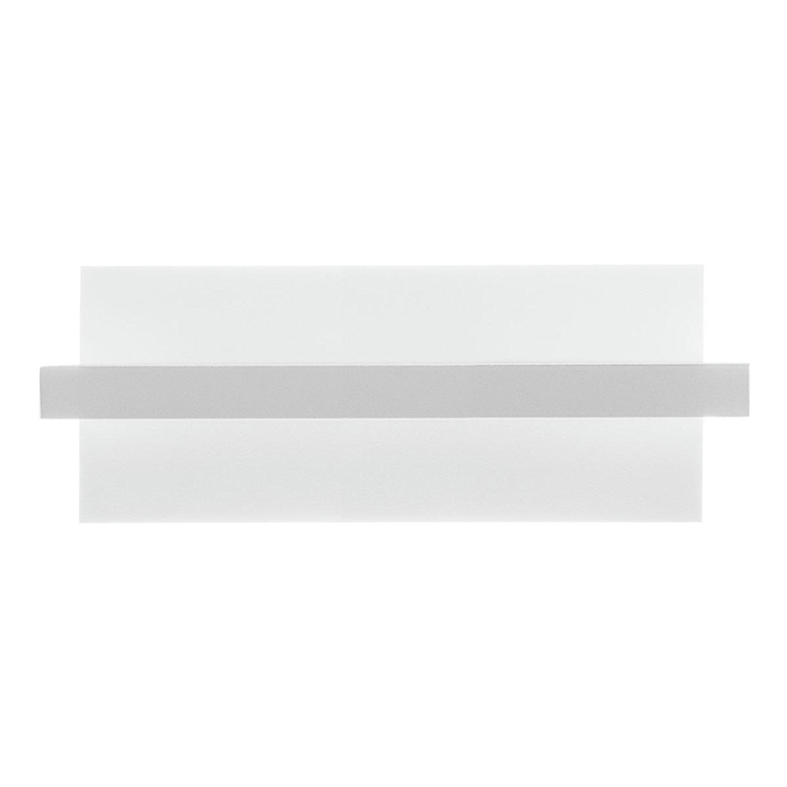 Tablet W1 LED-vegglampe, bredde 24 cm, hvit