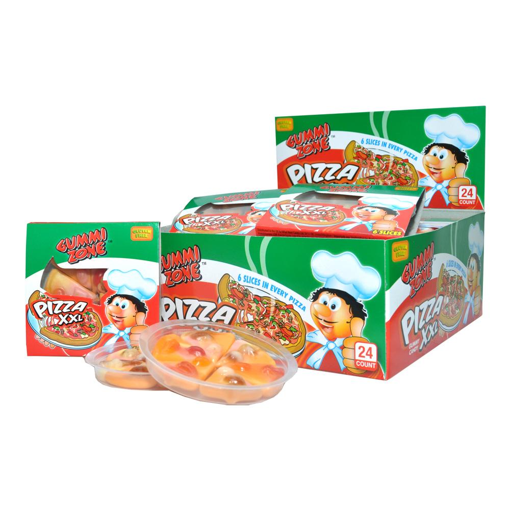 Gummi Zone Pizza Godis - 48-pack