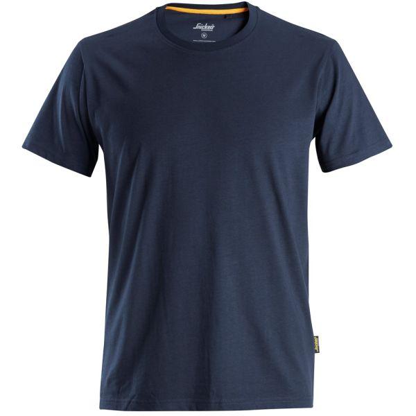 Snickers AllroundWork 2526 T-skjorte marineblå XS