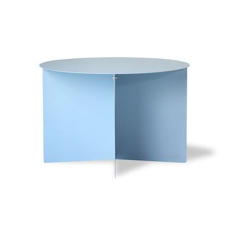Metall Sidebord Rund Blue