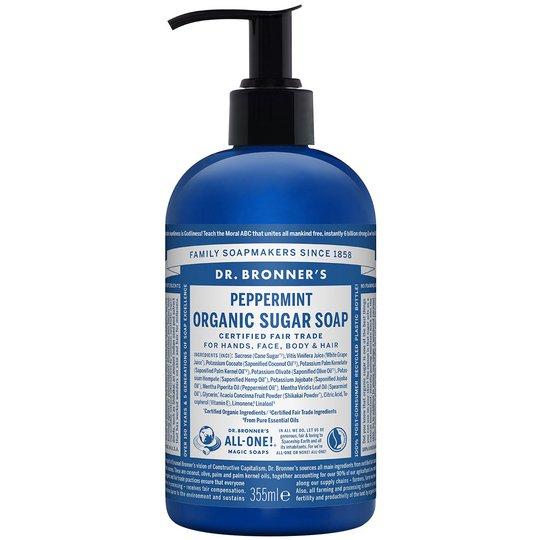 Organic Hand & Body Shikakai Soap Spearmint Peppermint, 355 ml Dr. Bronner's Luonnonkosmetiikka