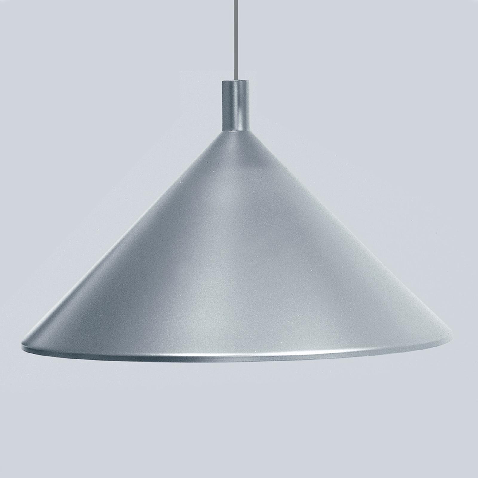 Martinelli Luce Cono -riippuvalo harmaa, Ø 45 cm