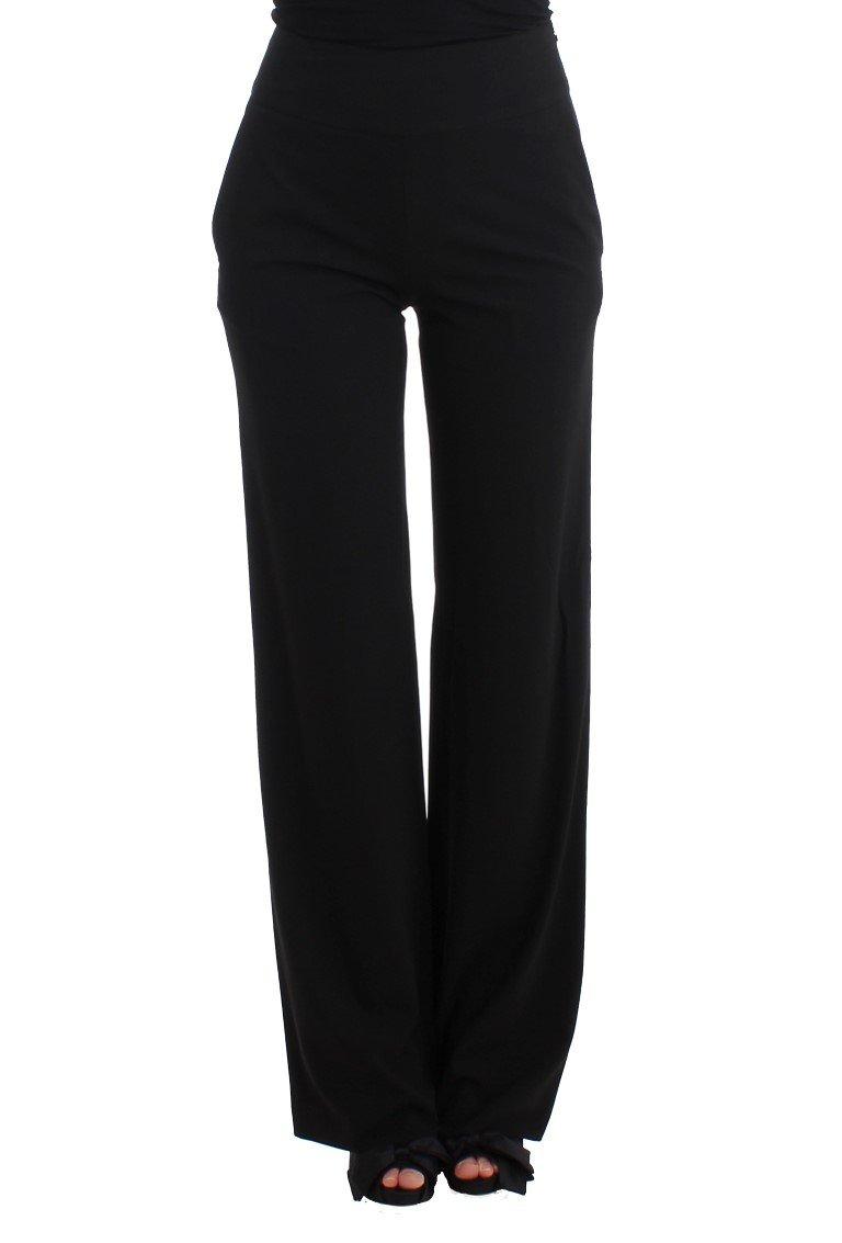 Cavalli Women's Dress Trousers Black SIG11534 - IT40|S