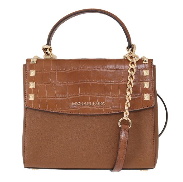 Michael Kors Women's KARLA Satchel Bag Brown MK5004