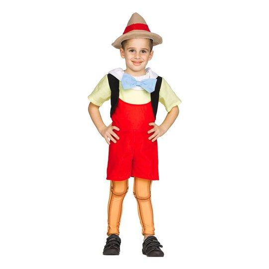 Pinocchio Barn Maskeraddräkt - Small