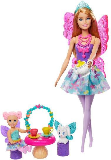 Barbie Dreamtopia Teparty Lekesett Med Dukke