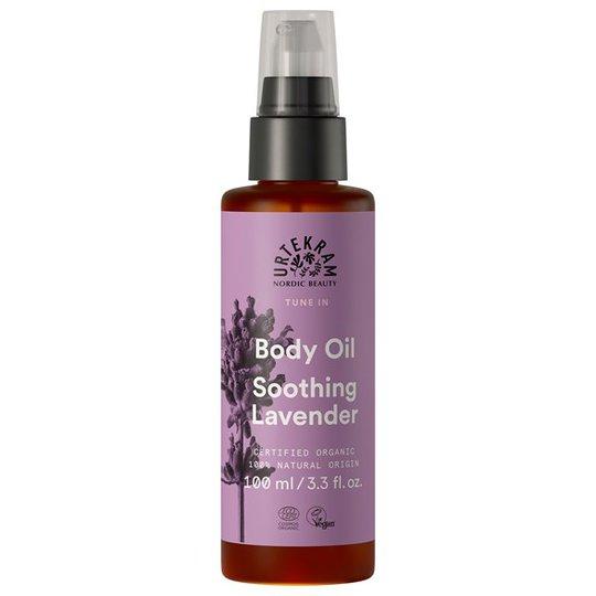 Urtekram Nordic Beauty Tune In Body Oil - Soothing Lavender, 100 ml