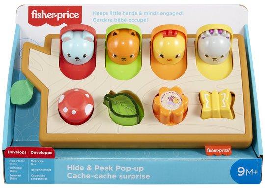 Fisher-Price Hide & Peek Pop-Up Aktivitetsleke