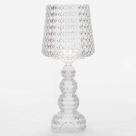 Kartell Mini Kabuki - LED-bordlampe, transparent