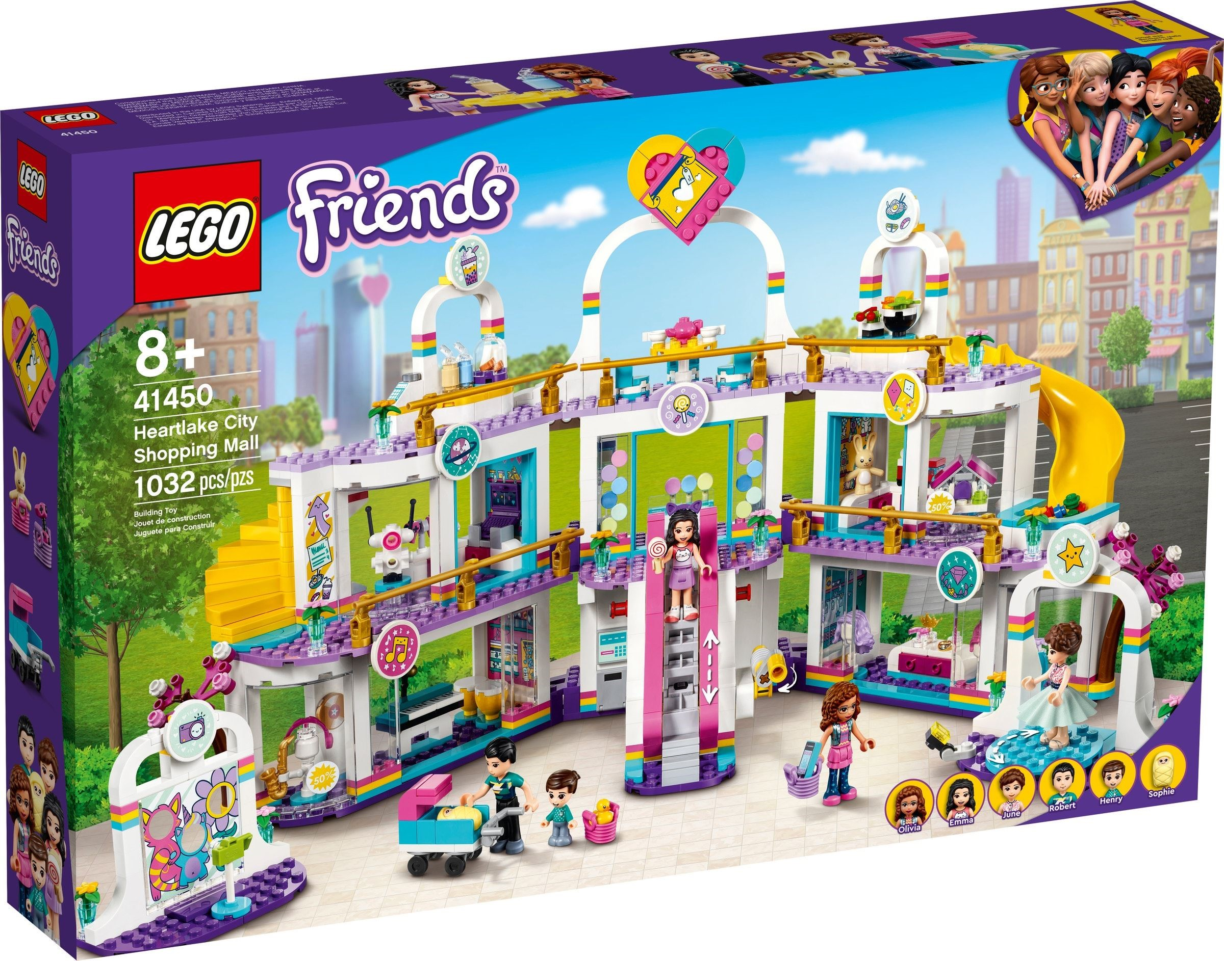 LEGO Friends - Heartlake City Shopping Mall (41450)